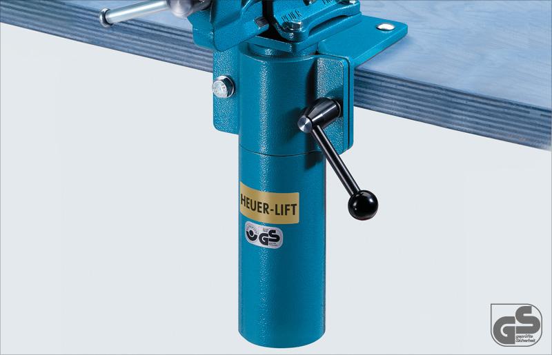 HEUER 104200 Höhenverstellgerät HEUER Lift für Backenbreite 100 mm  um 360Grad d